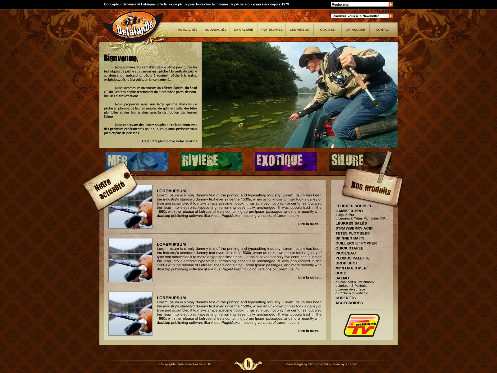 Site web Delalande