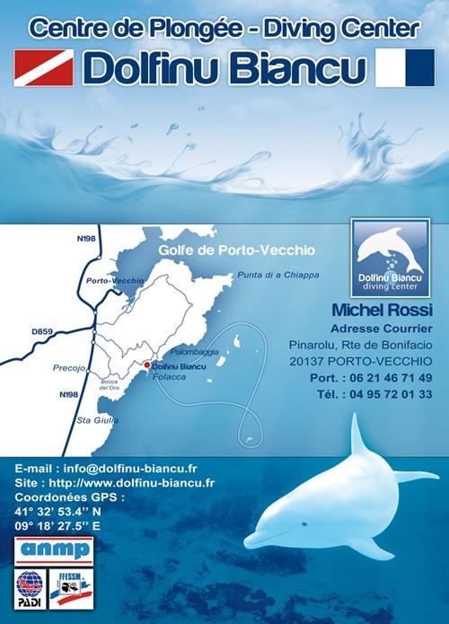 Centre de plongée Dolfinu Biancu Porto-Vecchio