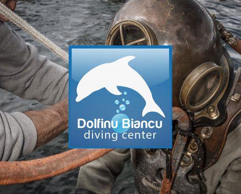 Logo Centre de plongée Dolfinu Biancu Porto-Vecchio
