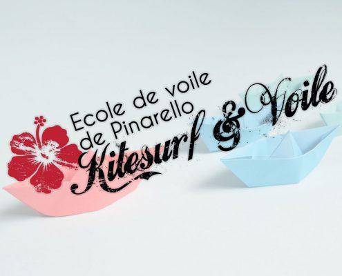 Création de logo Ecole de Voile de Pinarello