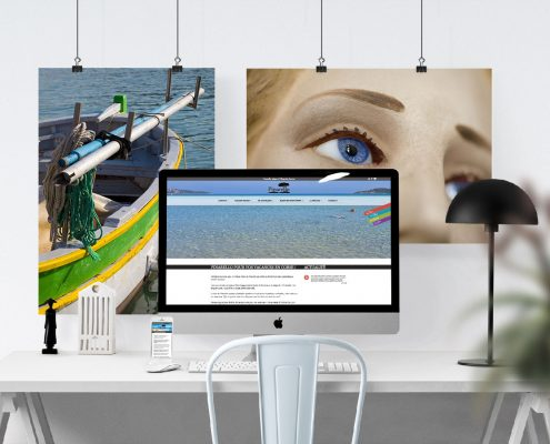 création de site web village marin Pinarello