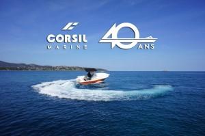 Mise en situation de l'illustration des 40 ans de la société Corsil