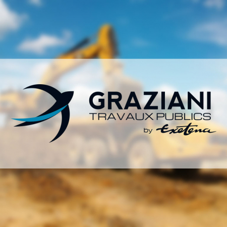 Logo de la société Graziani BTP en Corse
