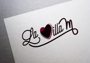 Proposition de création du logo la Villa M Porto-Vecchio