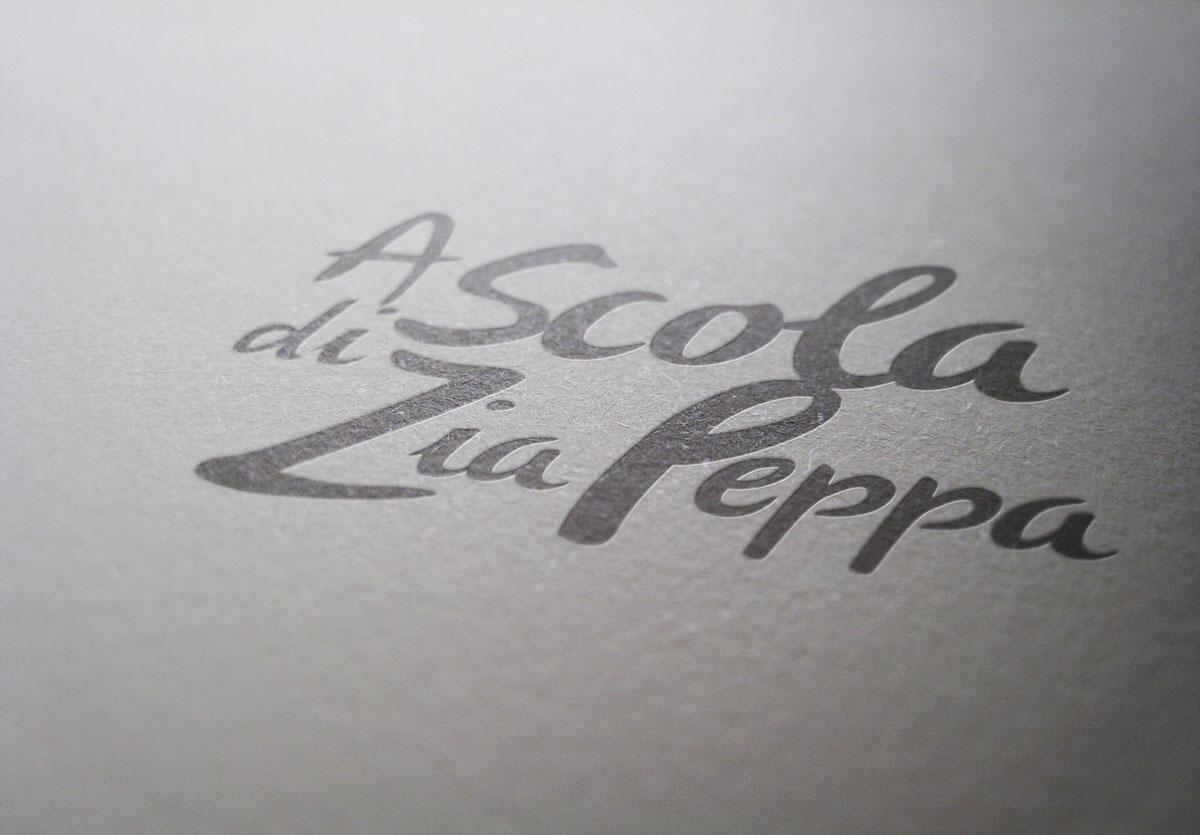 Création de logo Corse A Scola di Zia Peppa