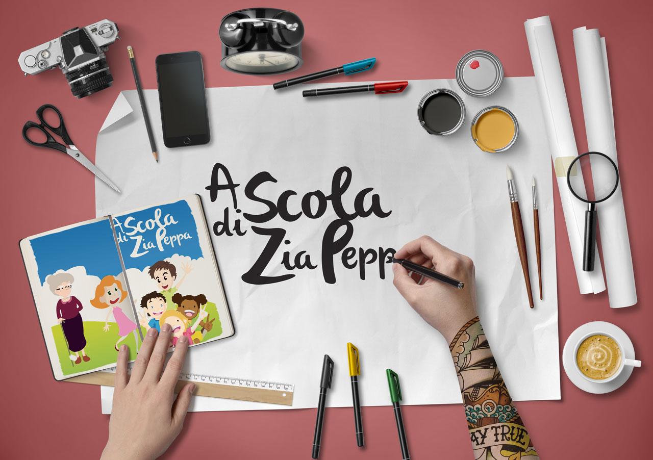Logo Scola di Zia Peppa