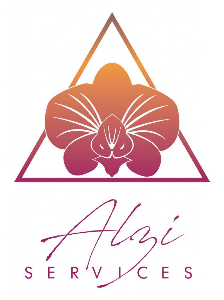Logo Alzi services bichromie